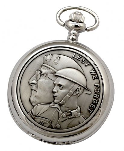 Remembering The Fallen Mechanical Pocket Watch